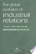 The Global Evolution Of Industrial Relations Book PDF