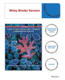 Functions Modeling Change   Wileyplus