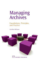 Managing Archives Book