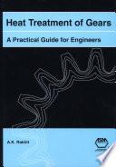 Heat Treatment of Gears Book