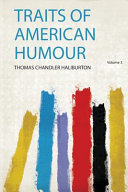Traits of American Humour