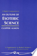 Read Online A Study Companion to An Outline of Esoteric Science For Free