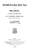 Homeward Bound, Or, The Chase ebook