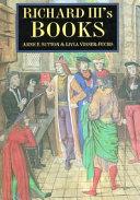 Richard Iii S Books