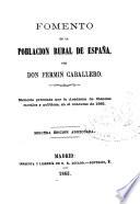 Fomento de la población rural de España