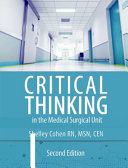 Critical Thinking In The Medical Surgical Unit Book