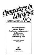 Computers In Libraries International 90