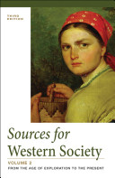 Sources for Western Society  Volume 2