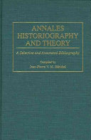 Annales Historiography and Theory
