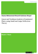 Linear and Nonlinear Analysis of Laminated Plates using Small and Large Deflection Theory
