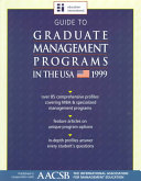 Guide to Graduate Management Programs in Canada