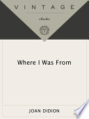 Where I Was From Book