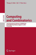 Computing and Combinatorics Book