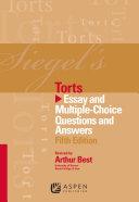 Siegel's Torts