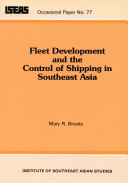 Fleet Development and the Control of Shipping in Southeast Asia [Pdf/ePub] eBook