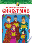 Creative Haven An Old Fashioned Christmas Coloring Book