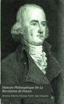 Histoire Philosophique De La Revolution de France