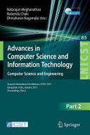 Advances in Computer Science and Information Technology. Computer Science and Engineering