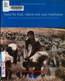 Water for Food  Nature and Rural Livelihoods