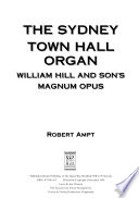 The Sydney Town Hall Organ