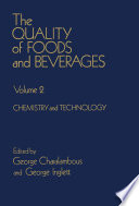 The Quality of Foods and Beverages V2 Book