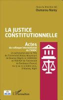 La justice constitutionnelle