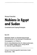 Nubians in Egypt and Sudan