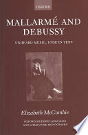 Mallarm   and Debussy Book
