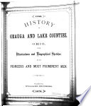 History of Geauga and Lake Counties, Ohio, with Illustrations and Biographical Sketches of Its Pioneers and Most Prominent Men