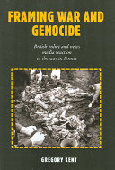 Framing War and Genocide Book