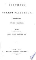 Southey's Common-place Book Pdf/ePub eBook