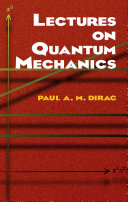 Lectures on Quantum Mechanics Pdf/ePub eBook