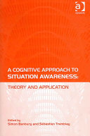 A Cognitive Approach to Situation Awareness