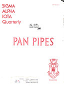 Pan Pipes Book