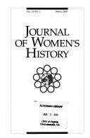 Journal of Women s History
