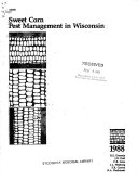 Pest Control in Commercial Sweet Corn Production Book