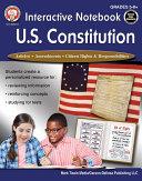 Interactive Notebook  U S  Constitution  Grades 5   12
