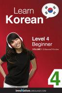 Pdf Learn Korean - Level 4: Beginner Telecharger