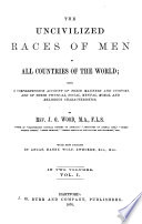 Uncivilized Races of Men in All Countries of the World Book