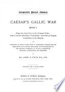 Caesar's Gallic War, Book 1
