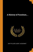 A History of Furniture, ..