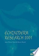 Echinoderm Research 2001
