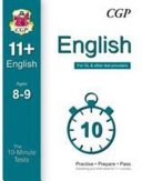 10-Minute Tests for 11+ English Ages 8-9 - For GL & Other Test Providers
