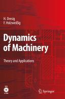 Dynamics of Machinery