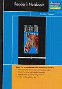 Prentice Hall Literature Penguin Edition Readers Notebook Grade 7 8th Edition 2007c