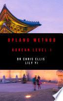 Oplang Method: Korean Level 1 (Audio eBook Enhanced Edition)
