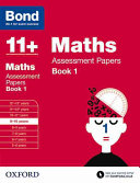 Bond 11+ Maths Assessment Papers 9 - 10 Years