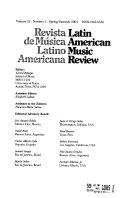 Revista de música latinoamericana
