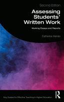 Assessing Students  Written Work
