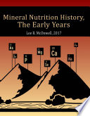 Mineral Nutrition History Book PDF